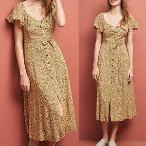 Anthropologie • Bolano Dress Leopard